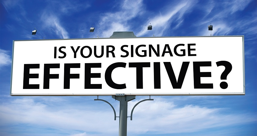 What's Your Sign? Top 5 Qualities of Effective Signage