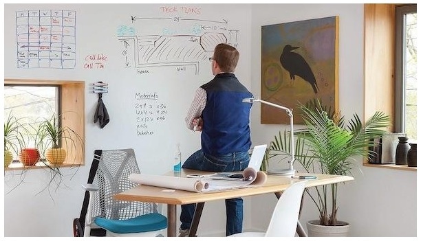 7 Reasons  Why Your Home Office Furniture Must Have a Whiteboard